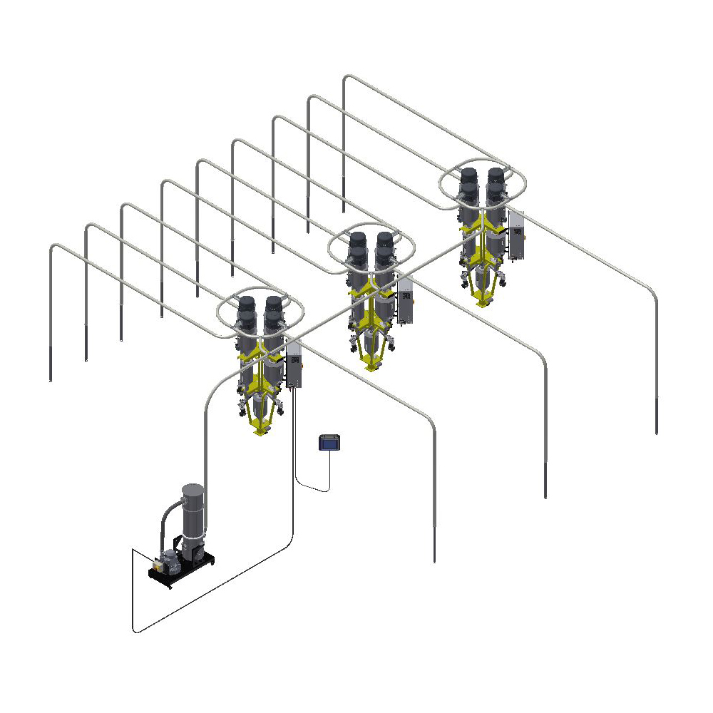 smartconvey central vacuum conveying system doteco smartconvey central vacuum conveying system