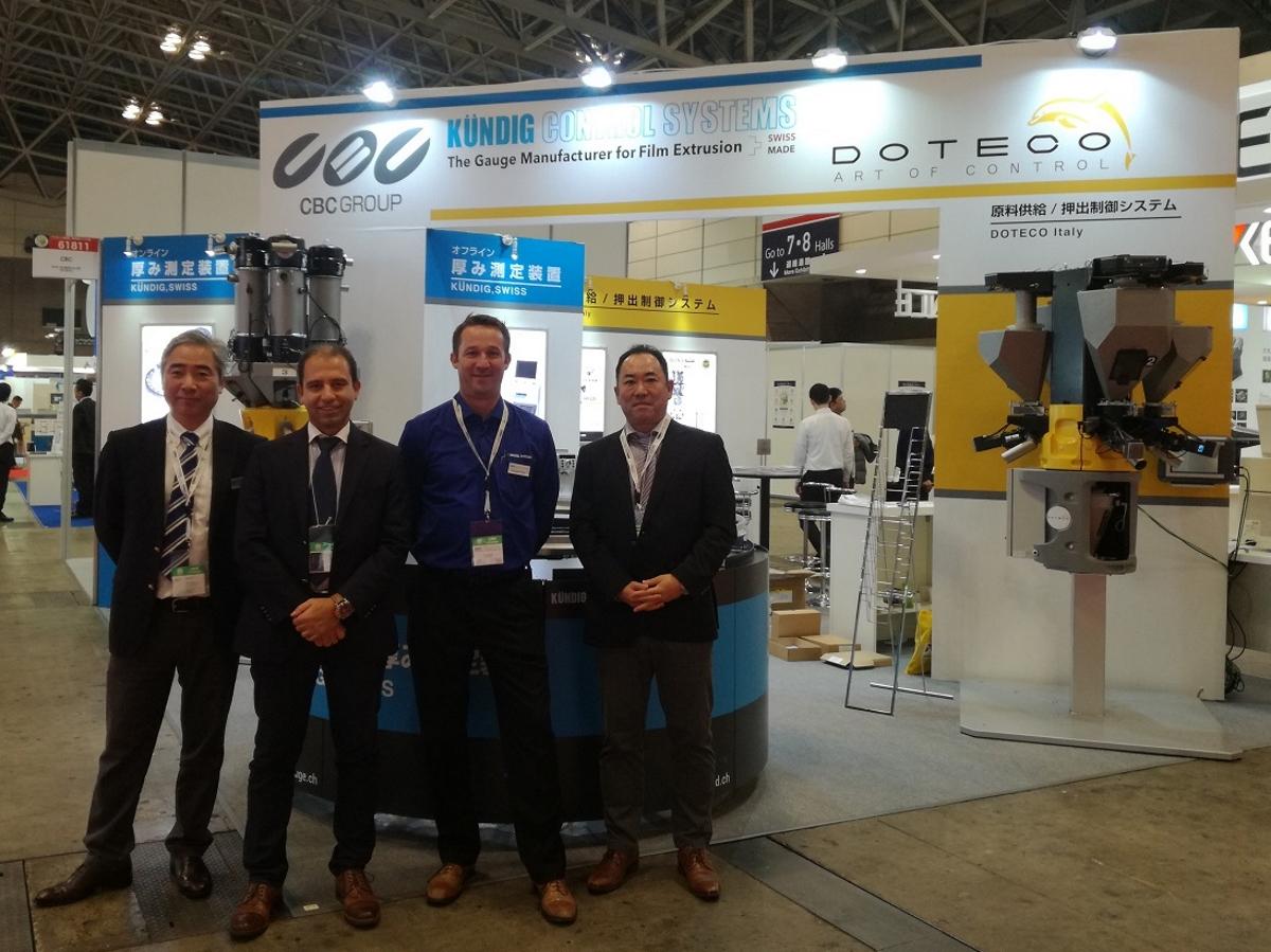 IPF Japan - Doteco team