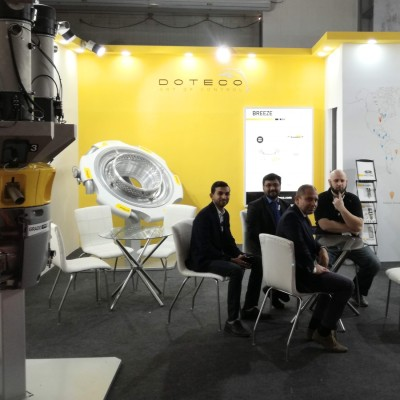 DOTECO Booth at INDIAPLAST